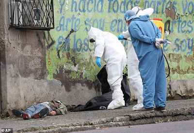 Corpses of Coronavirus Patients Liter Streets Of Ecuador As Death Toll Hits 7,921 - Photos