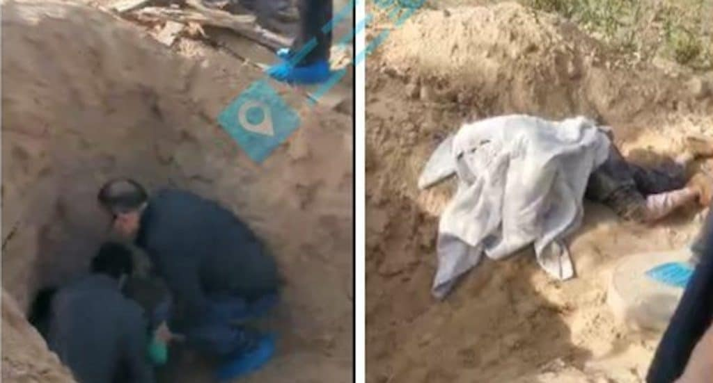 79-YEAR-OLD PARALYZED MOTHER PULLED FROM GRAVE ALIVE, AFTER HER SON BURIED HER ALIVE