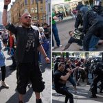 Riot Police Clash With Hundreds Of Anti Lockdown Protesters In Germany (Photos)