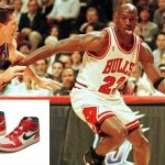 Basketball legend Michael Jordan's autographed trainers sell for record $560,000