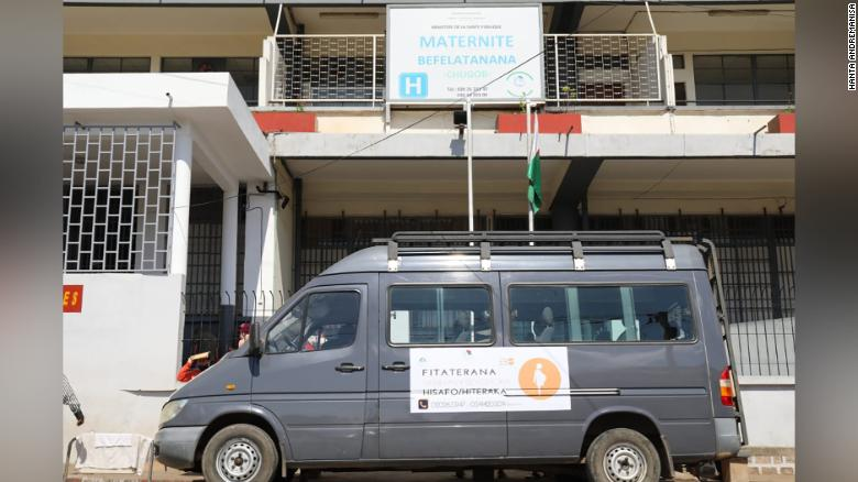 In Madagascar - Pregnant women get free transport to hospitals during covid-19 pandemic