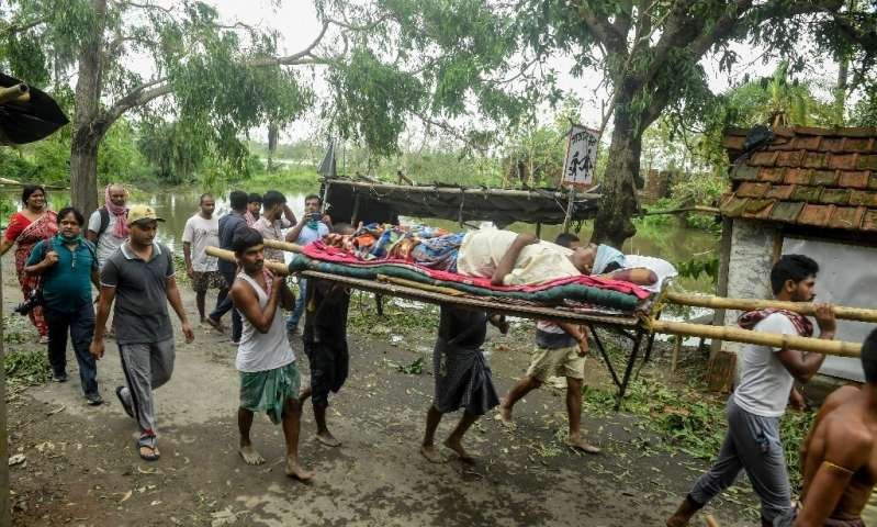 South Asia cyclone death toll passes 100