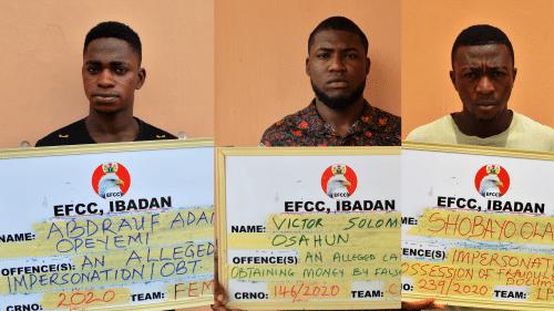 Sixteen 16 Internet Fraudsters Bag Jail Term In Ibadan Nigeria