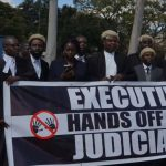 In Malawi - Lawyers protest as chief justice forced to retire before vote