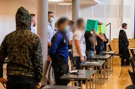 Germany's freiburg Refugees gang rapists to spend years in prison
