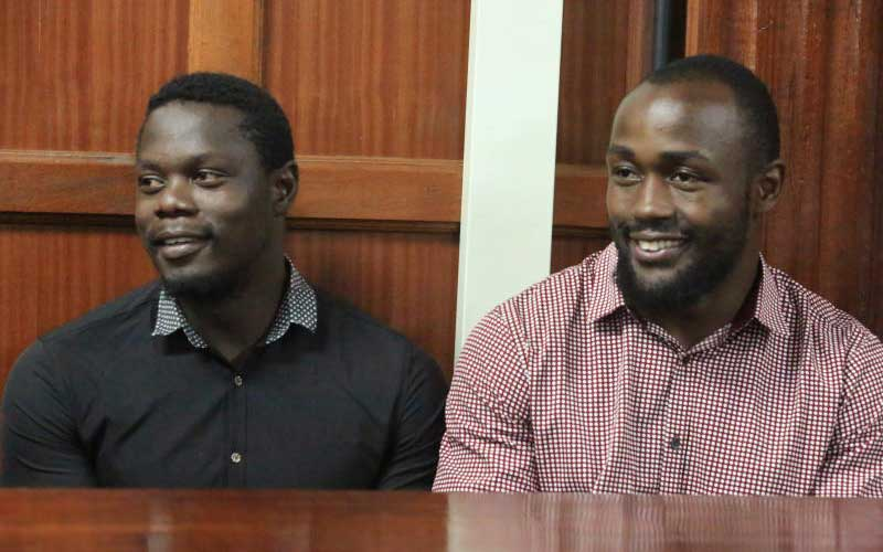 Two Kenya rugby players jailed in rape case freed ahead of retrial