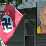 In US - Woman shot while trying to remove Nazi flag