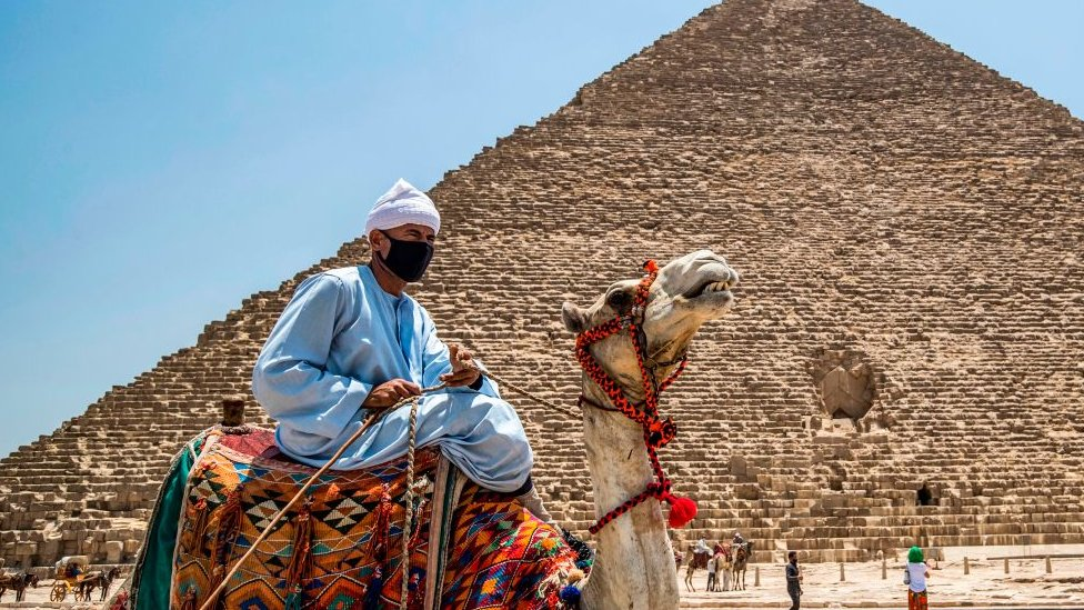 Egypt reopens pyramids after coronavirus closure