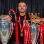 Liverpool captain Henderson wins Football Writers' Association Footballer of the Year
