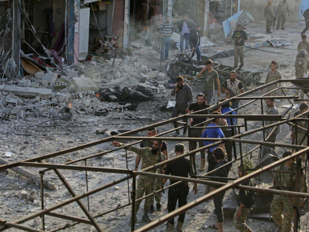 Bomb Kills Eight in Turkish-Held Syria Town
