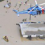 Fourteen feared dead in nursing home as heavy rain lashes western Japan