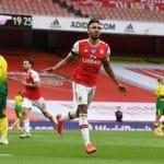 Aubameyang becomes fastest player to score 50 Premier League goals