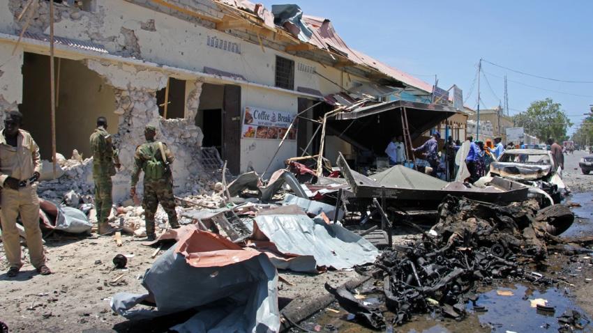 In Somalia - Car Bomb blast kills At least seven