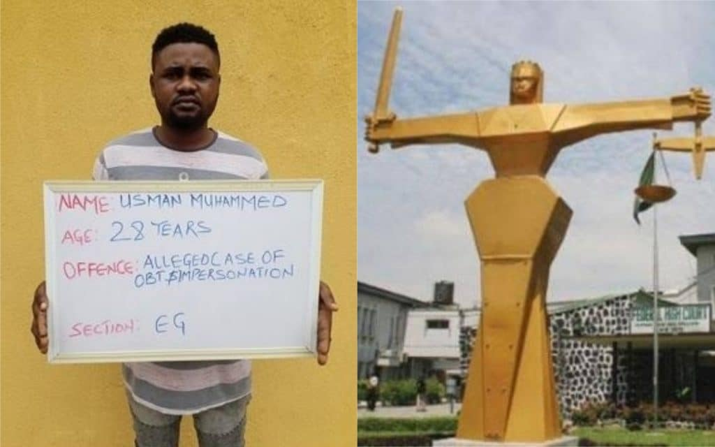 Man Sentenced To Jail For disguising As A Lady & Using Nud3 Pics To Dupe Men