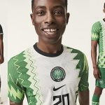 Super Eagles of Nigeria stars model new Nike kits
