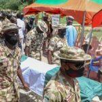 Maiduguri Nigeria:Tears as army buries war commander killed by Boko Haram