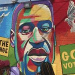 George Floyd Mural Unveiled As Family Mark his 47th Birthday