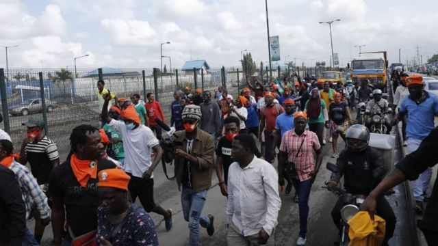 Nigeria Independence Day:Police Arrest Protesters At #RevolutionNow March