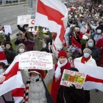 In Belarus: Protesters continue to push for president's resignation