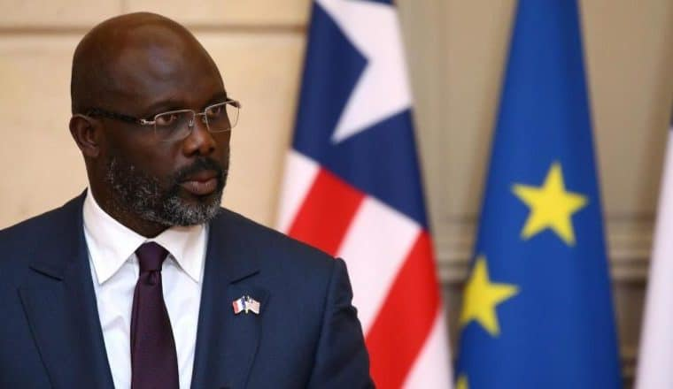 'Go ask your mother money' – Liberia's President George Weah slams youth asking him for help