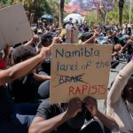 In Namibia: Police Use Teargas to Subdue Gender-Based Violence Protest - Video