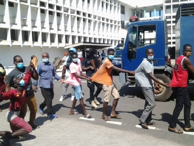 27 Persons, Traditional ruler charged with treason over Volta Region disturbances