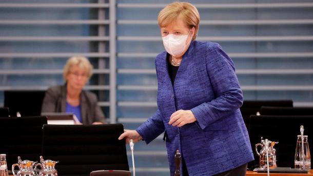 'Germany on the verge of losing control of virus' -Merkel