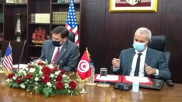 Tunisia signs 10-year military cooperation deal with US