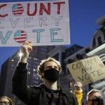 Police arrest 11 in Portland, 50 in New York over U.S. Presidential election protests