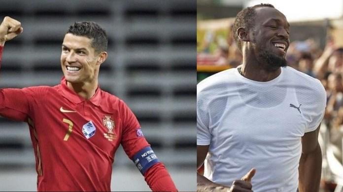 'Cristiano Ronaldo is faster than me!' - Usain Bolt Says