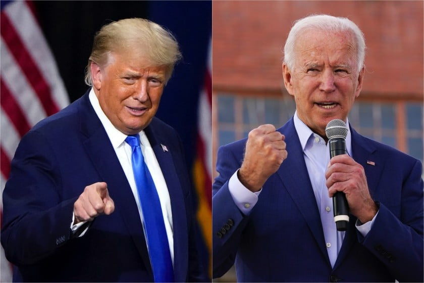 President Trump Finally admits Joe Biden has won but repeats claims Election was rigged