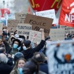 In Paris: Thousands protest against police violence, demand free press