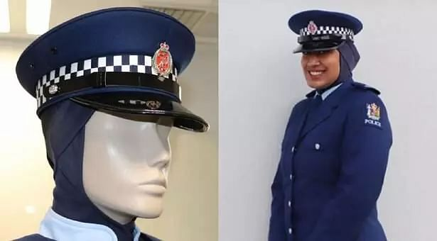 New Zealand police introduce hijab as part of official uniform to encourage more Muslim women