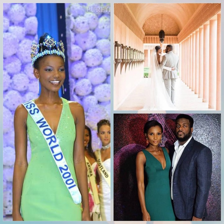 Former Miss World, Agbani Darego Welcomes Second Child With Her Husband