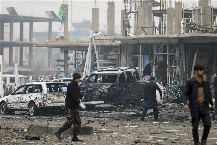Car bomb kills Nine civilians in Kabul