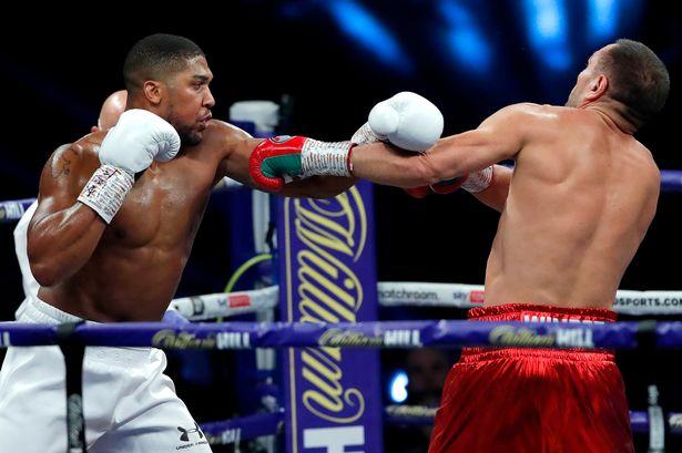 Boxing: Antony Joshua retains titles after knocking out Kubrat Pulev
