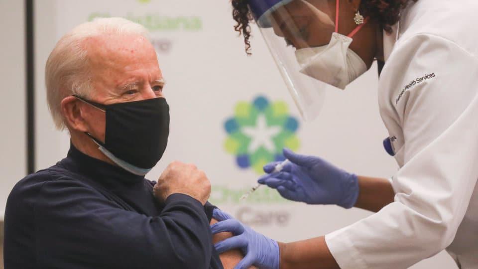 US President-elect Joe Biden Gets The Pfizer Covid-19 Vaccine - Video