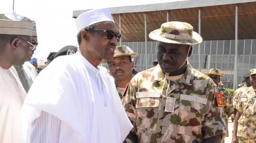 Nigeria President Buhari has finally sacked the service chiefs with immediate