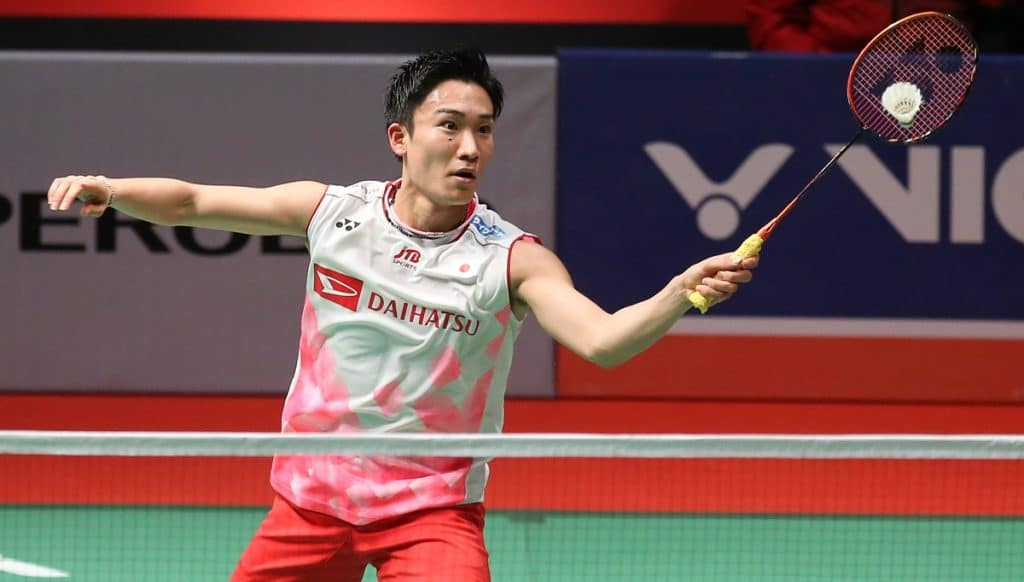 Momota tests positive for Covid-19, Japan players to miss Thailand Open