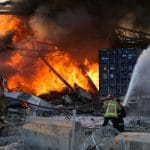Explosion at fuel depot on Lebanon-Syria border injures 10 People