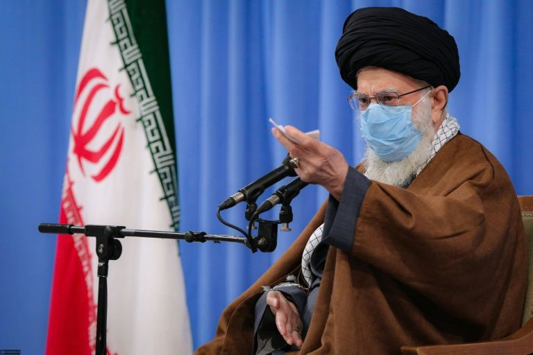 Iran leader bans UK and US Covid vaccines because he doesn't 'trust' them