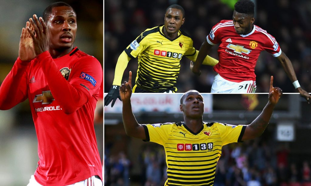 Footballer Odion Ighalo to make Man United farewell appearance against Watford in FA Cup