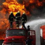 Nigeria Immigration Service Headquarters In Abuja Caught by Fire