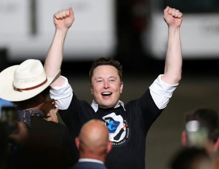 South African-born Elon Musk dethrones Jeff Bezos to become the richest man in the world
