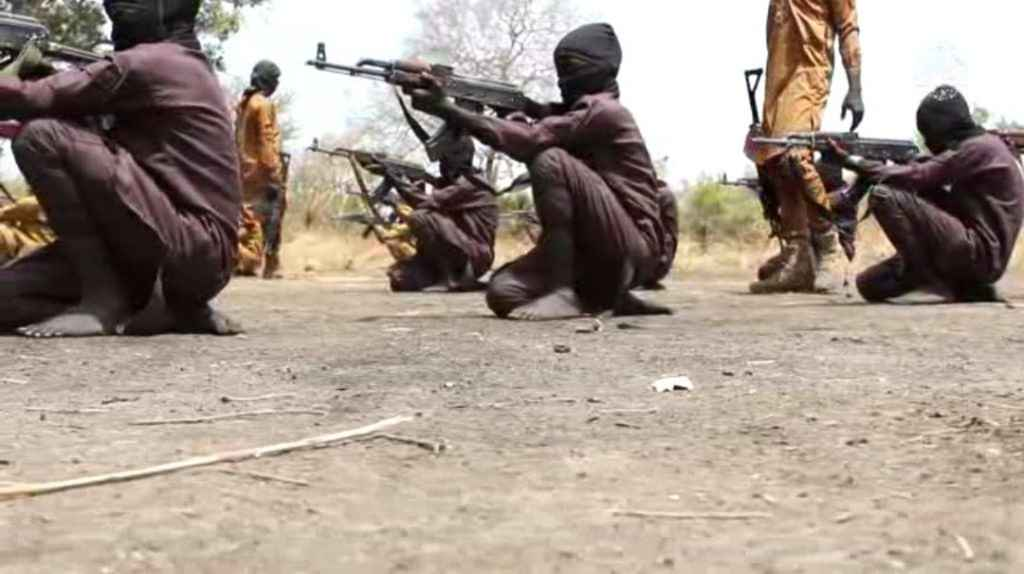 Boko Haram Terrorist Releases shocking Photos Of Kids Doing Religious & Combat Training In Their Camp