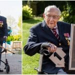 UK's Record-breaking NHS fundraiser Captain Tom Moore dies aged 100