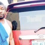 Fleeing Driver Arrested With Boss Stolen Car In Ogun