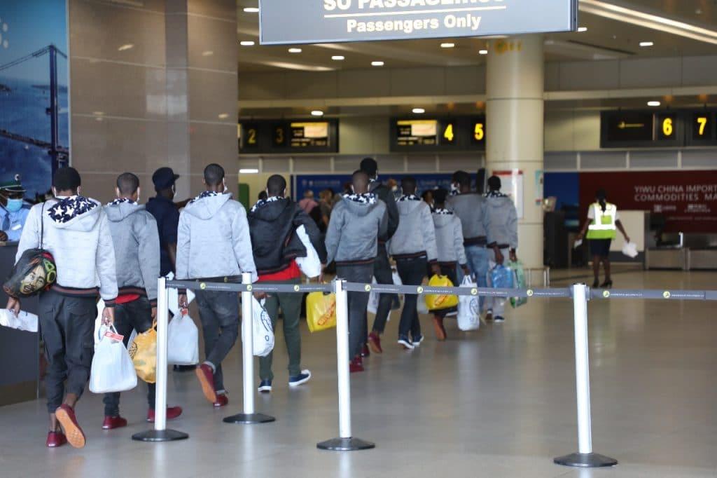 160 Nigerians Stranded In Libya Arrive In Abuja Today