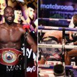 Nigerian Boxer Okolie Becomes WBO Cruiserweight Champion After Defeating Glowacki
