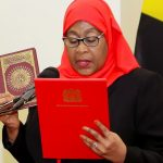 History Made: Tanzania appoints first female president